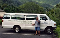 423912875 Oahu tour, Hawaiian Islands Eco Tours van