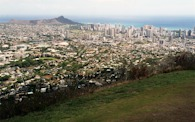 423913099 Oahu, Honolulu and Diamond Head crater